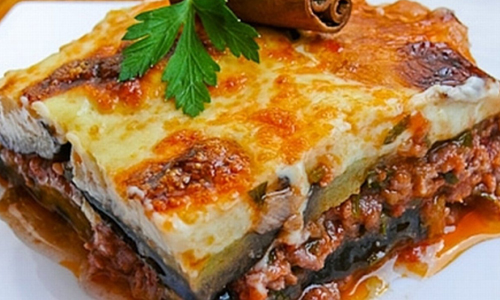 foods to try around the world - moussaka