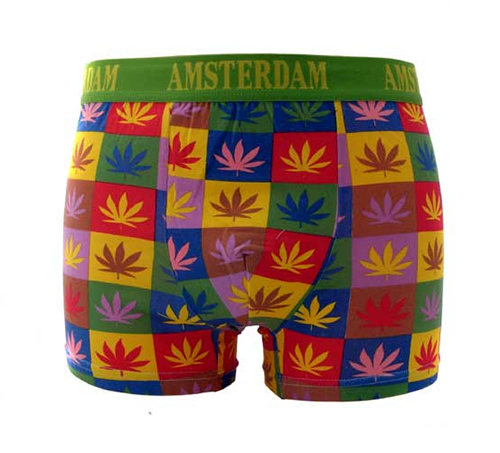 europe souvenirs - weed boxers