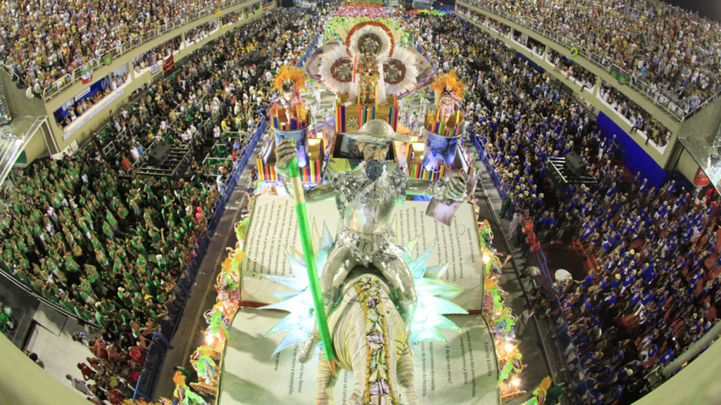 image of the carnival floats in the parade