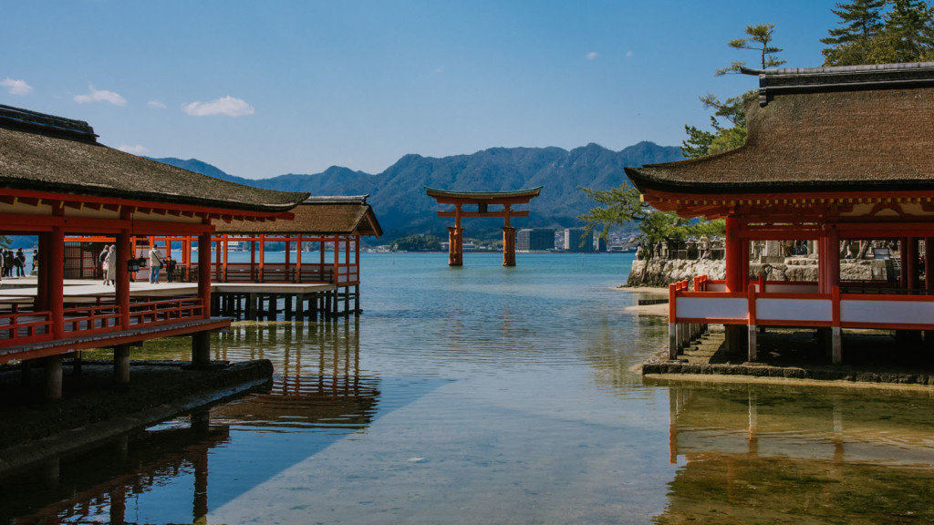 Image of a shrine in Japan