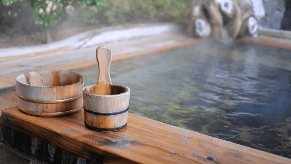 Image of an onsen spa