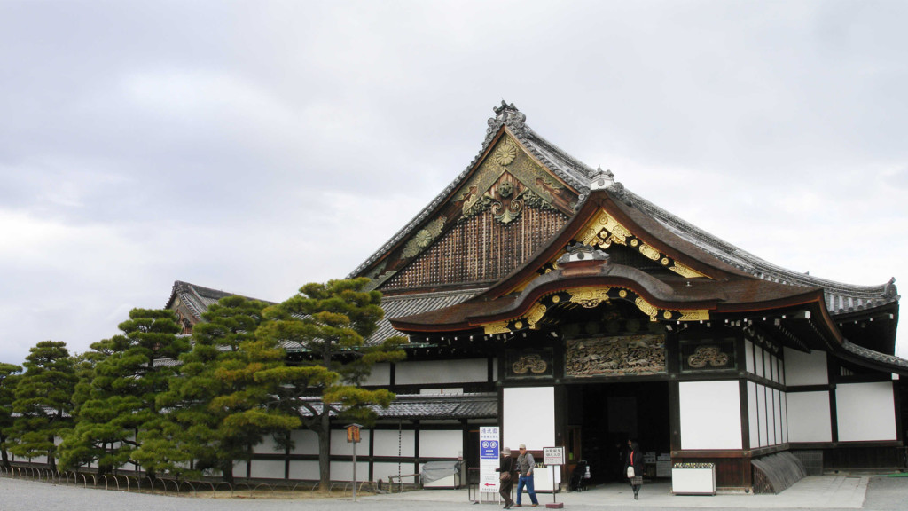 movie locations - Nijo shrine in japan