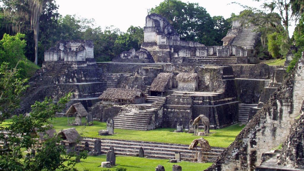 movie locations - tikal ruins, gautemala