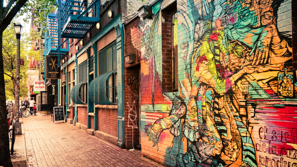 things to do in New York - image of street art in New York