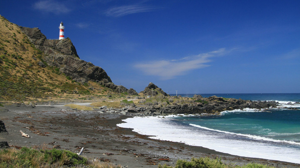 Image of the lighthouse at Cape Palliser