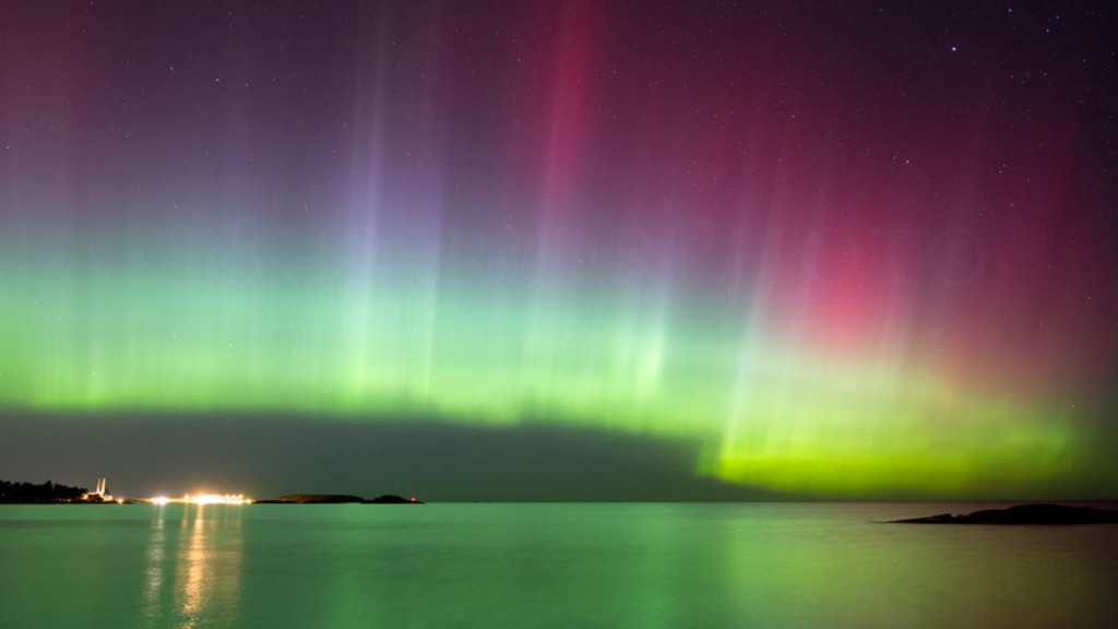 Image of the Aurora Borealis
