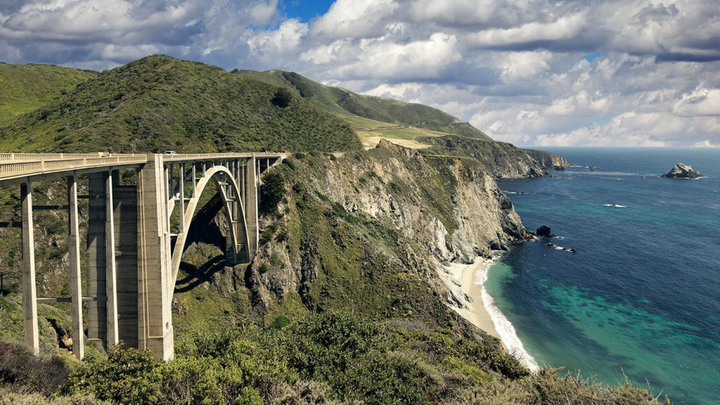 the USA's best road trips - image of the pacific coast highway