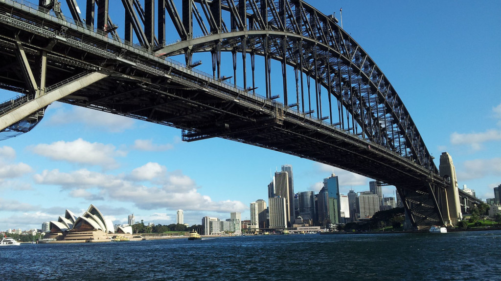 Things to do in Sydney - image of the Sydney Harbour Bridge