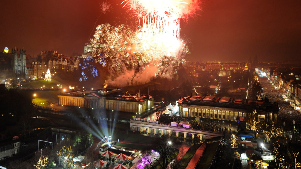 Image of New Years celebrations in Hogmanay