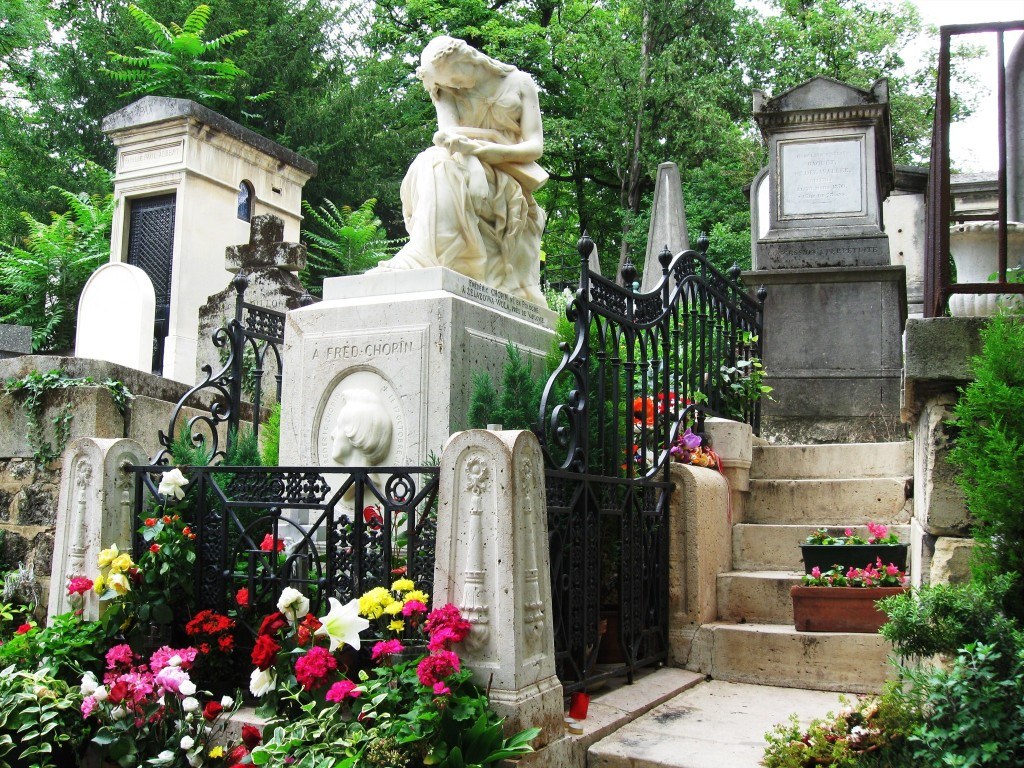 Image of Chopin's Grave