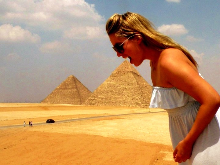 Image of Mindy in Egypt