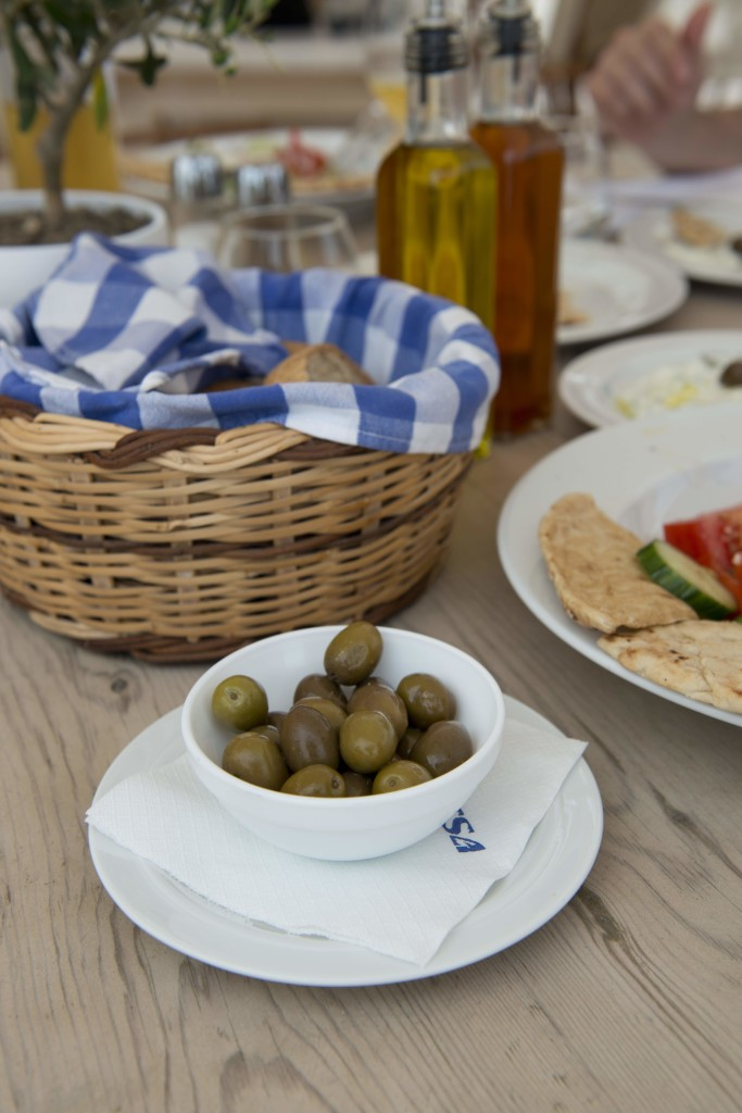 Greek food - Breads and dips