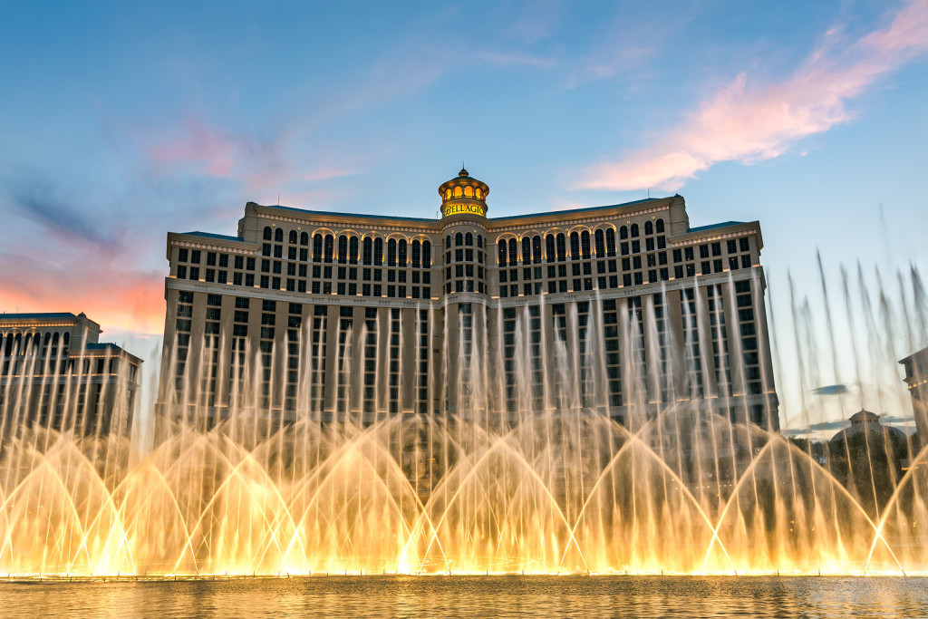 The Fountain at the Bellagio Hotel in Las Vegas