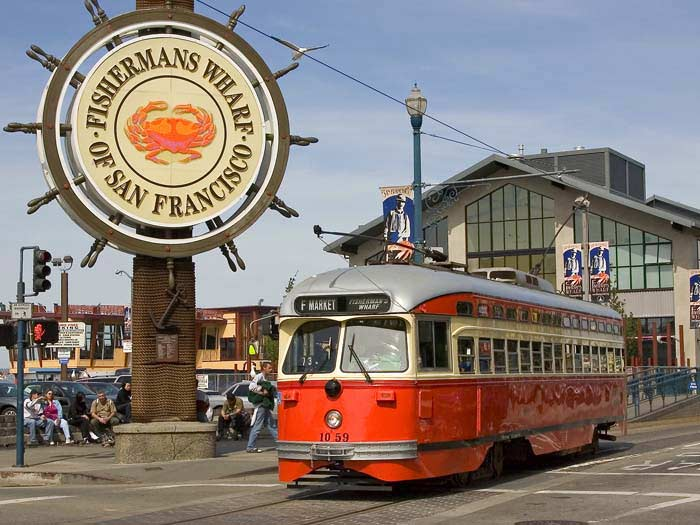 Image of Fisherman's wharf in San Francisco