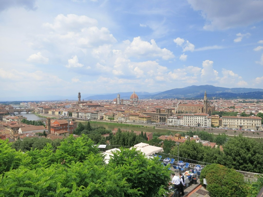 Piazzale Michelangelo in Florence