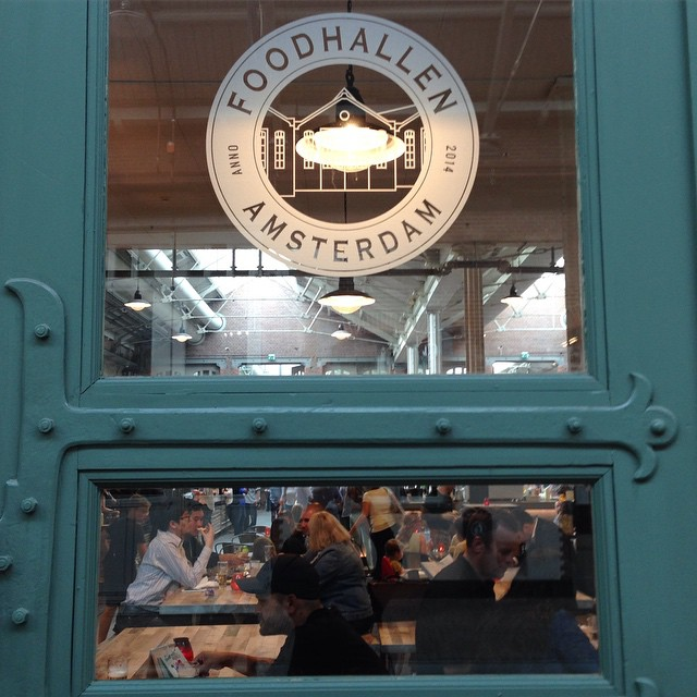 food in amsterdam - image of the foodhallen