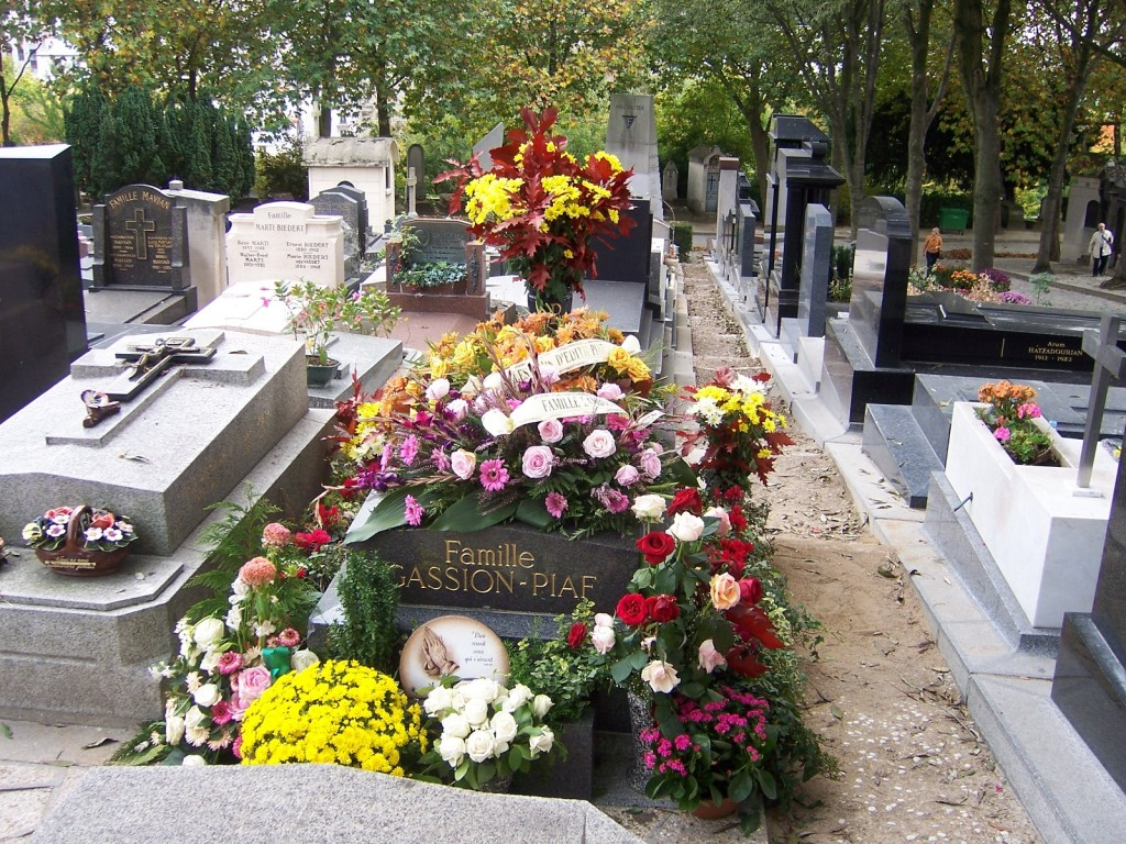 Image of Edith Piaf's Grave