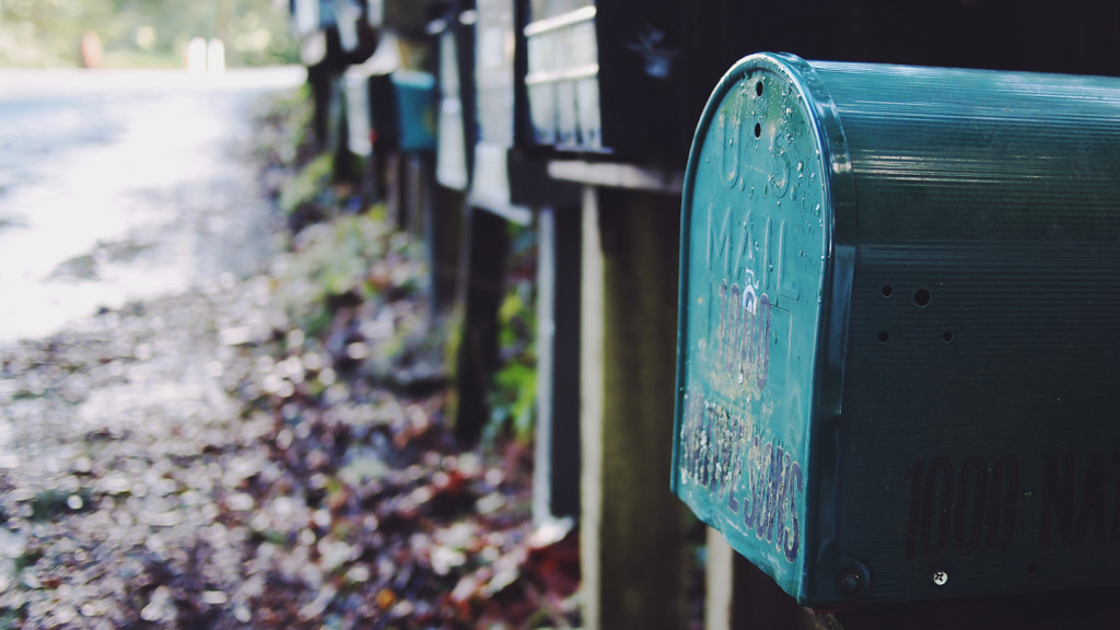Image of a mail box