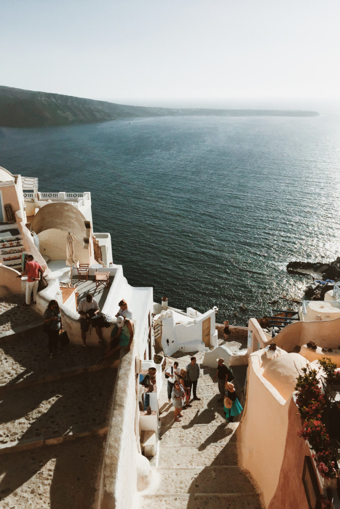 greek island hopping - Greece view from above