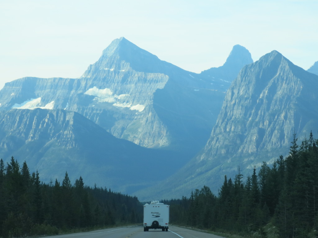 Canada and the rockies - Jasper highway