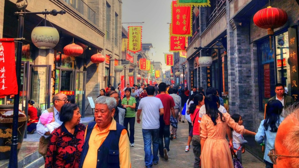 travel tips for china - image of a street in china