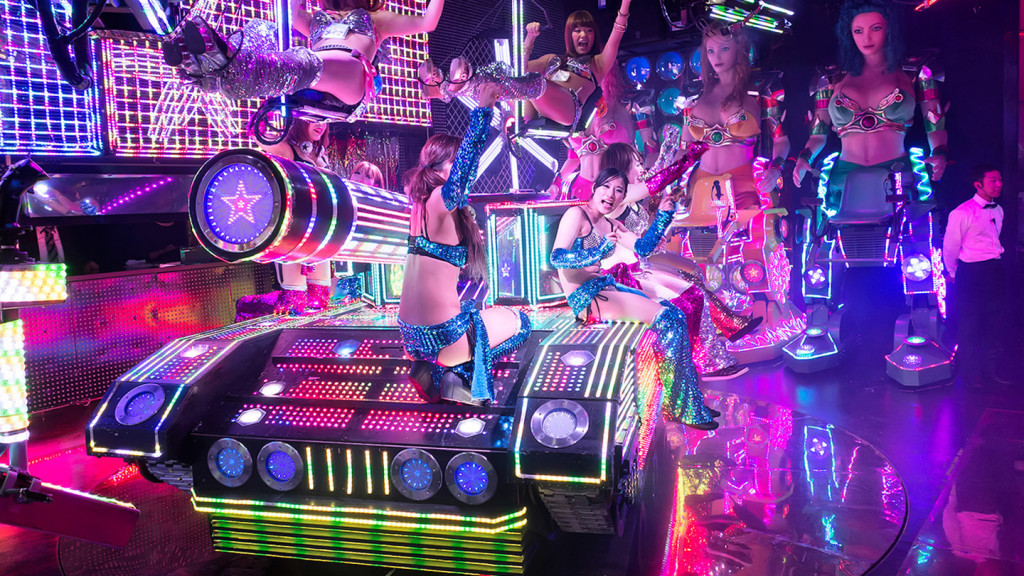 Japanese food - image of the robot restaurant
