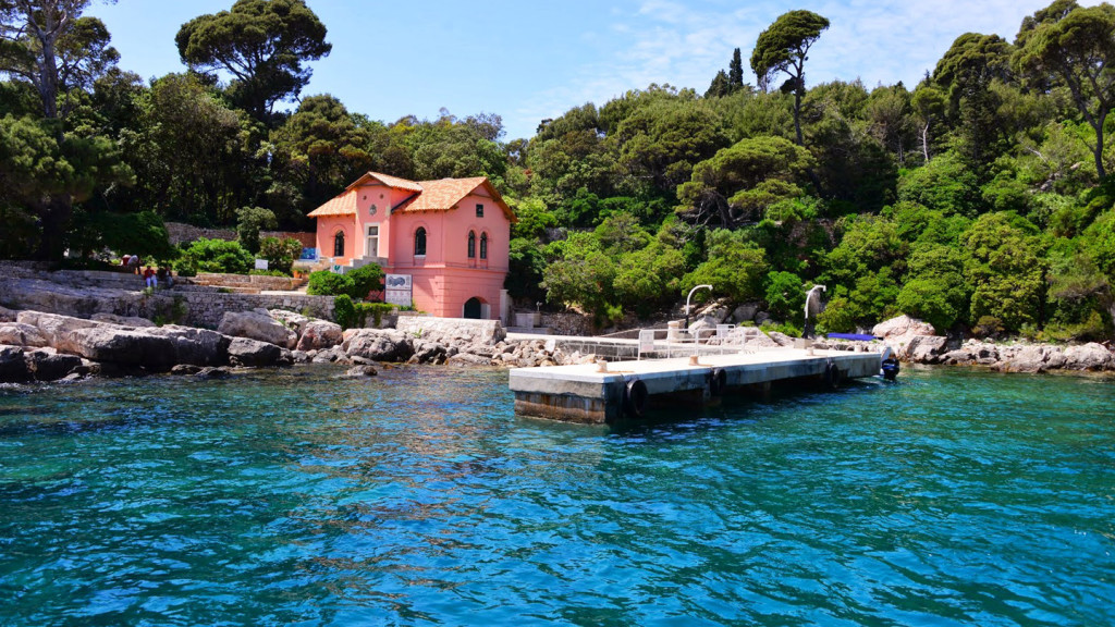 things to do in dubrovnik - image of Lokrum island