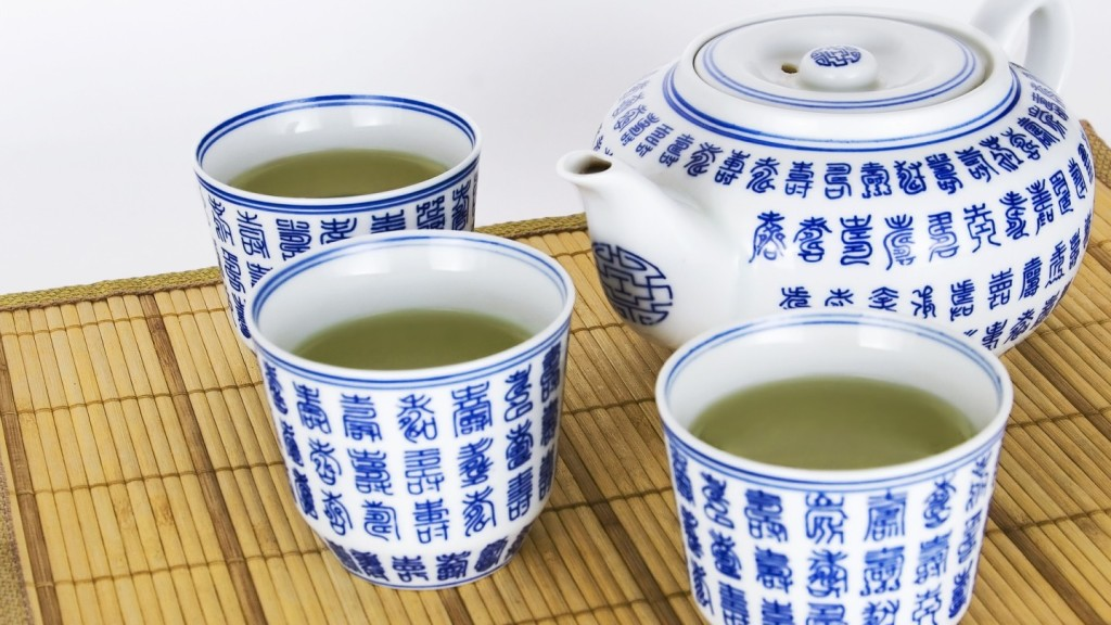travel tips for china - green tea