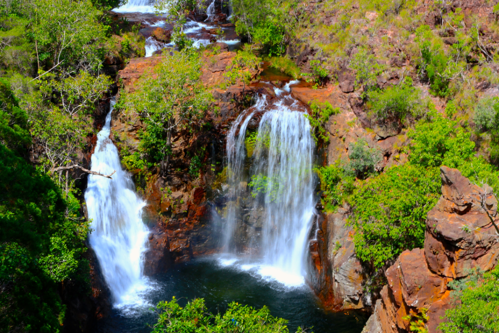 Image of Florence falls in Litchfield National park Australia - Contiki