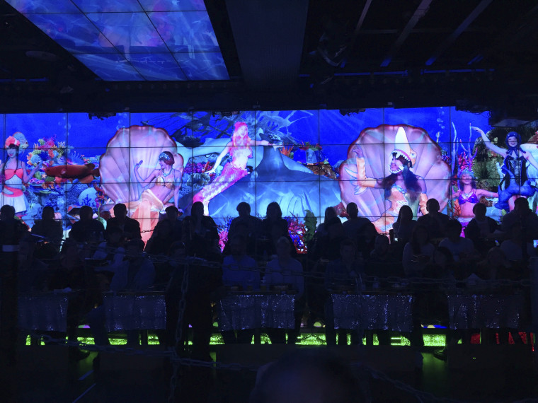 Image of the robot restaurant with Contiki Holidays