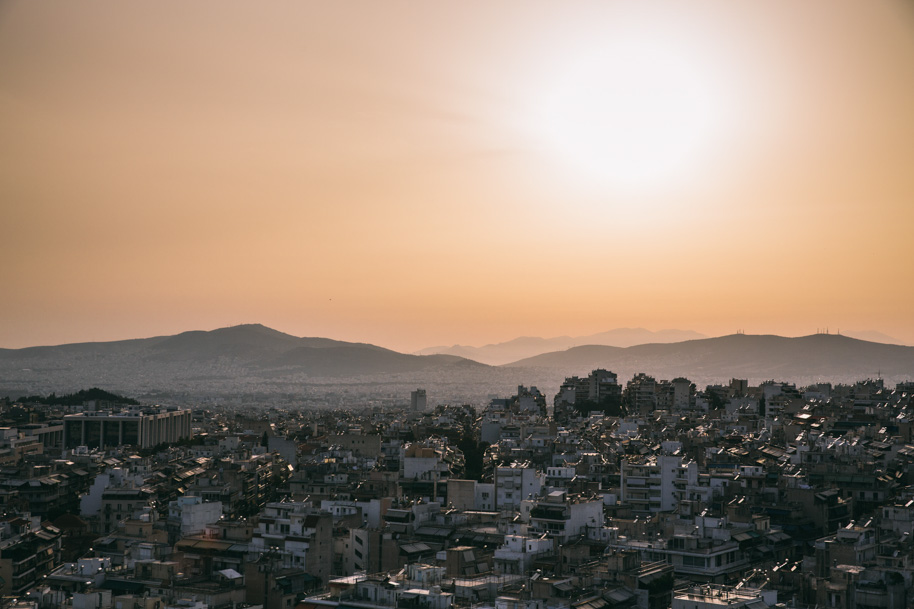 Image of Athens by Luke Latty for Contiki