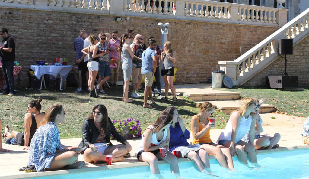 house party - image of Chateau pool