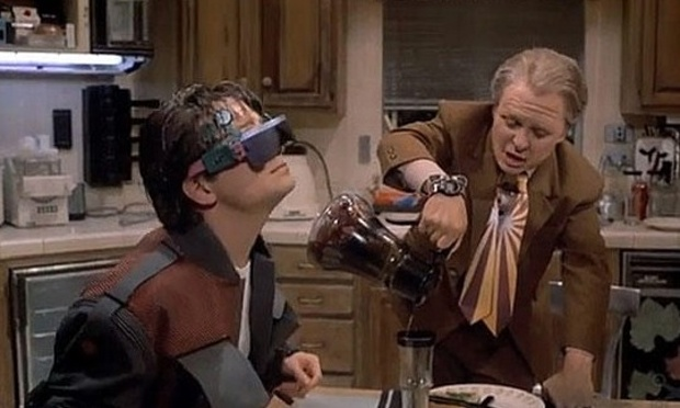 back to the future - smart glasses