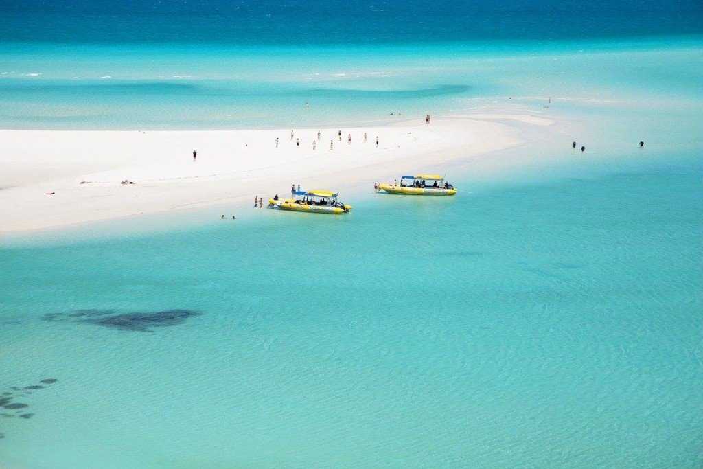 Image of Whitehaven beach in Australia