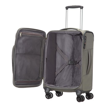 Christmas gifts for people who love to travel - Samsonite spark carry on suitcase in grey