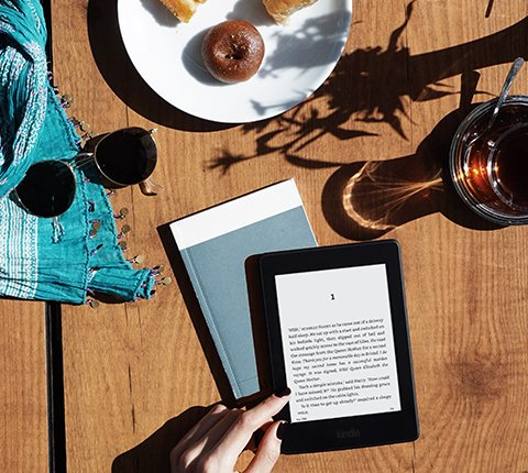 Christmas gifts for people who love to travel - image of kindle paperwhite