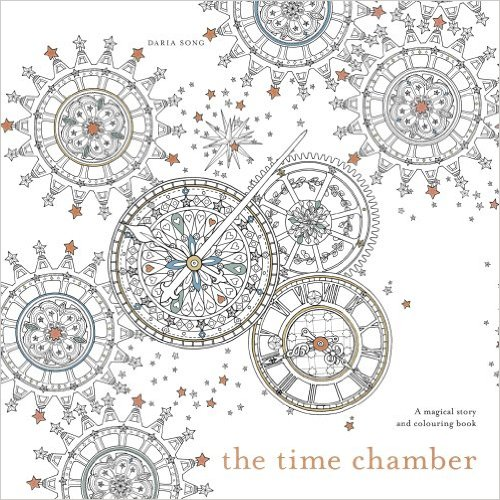 Christmas gifts for people who love to travel - image of The Time Chamber colouring book