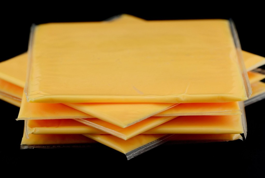 weird things that exist in america - Image of yellow cheese in America