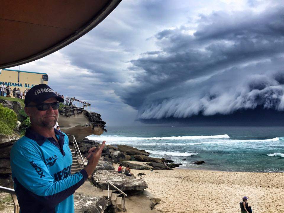 Craziest things to come out of Australia - sydney storm