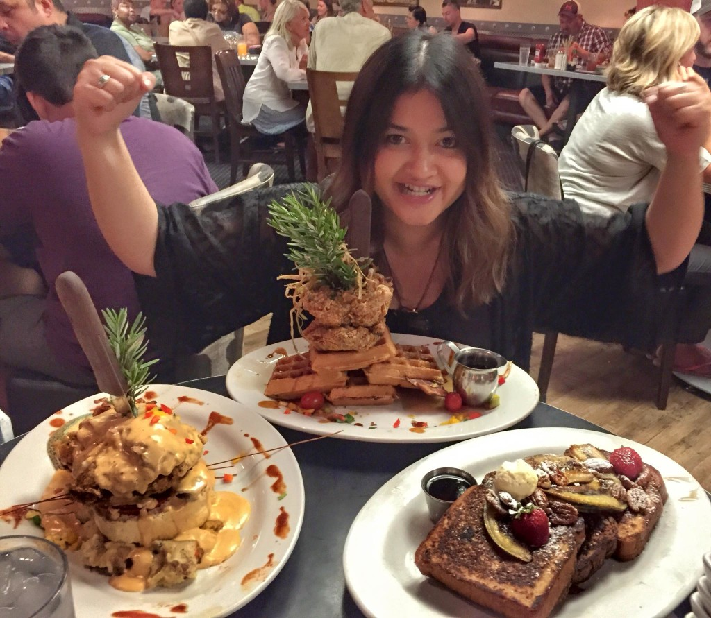 weird things that exist in america - Image of Hash House A Go Go meal in Vegas
