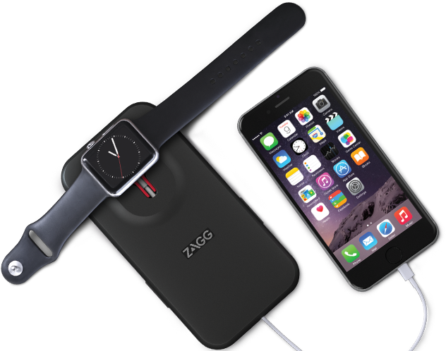 Zagg dual charging mobile charging
