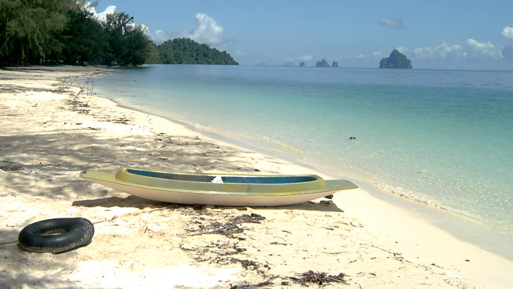 romantic travel destinations - image of ko kradan beach