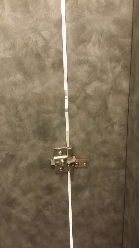 Toilet doors in America