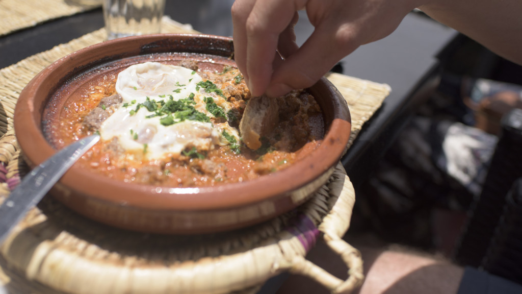 trip to europe - image of food in morocco