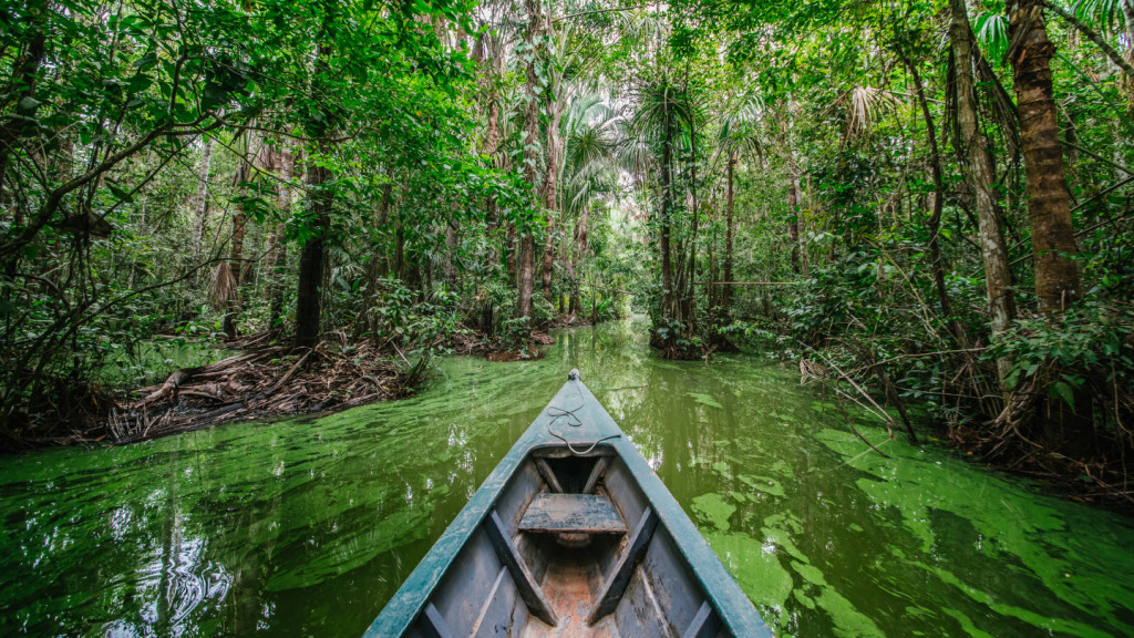 things to do in Latin America before you die - boat on the Amazon