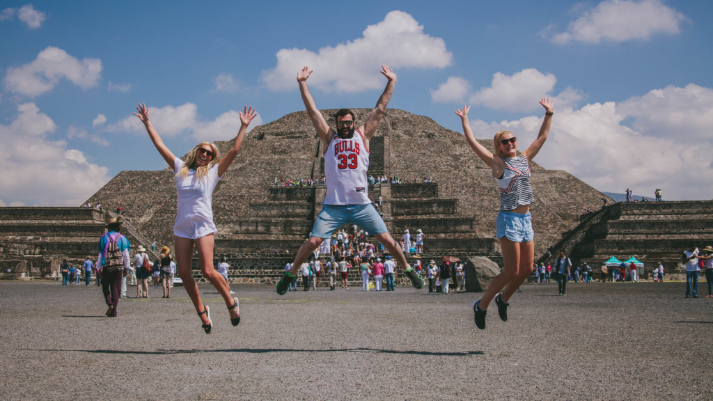 Jumping in Mexico