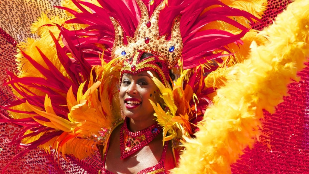things to do in Latin America before you die - dancer at Rio Carnival