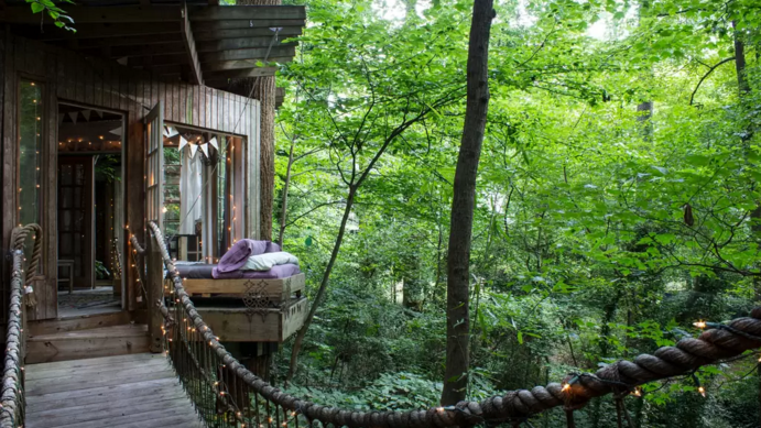 Katie and Peter's Intown Treehouse