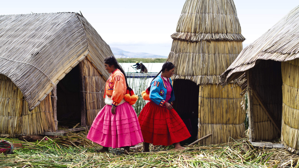 lake titicaca - floating islands of uros