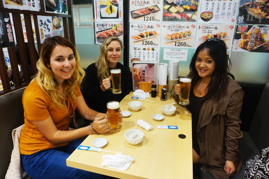 Japanese food culture and etiquette